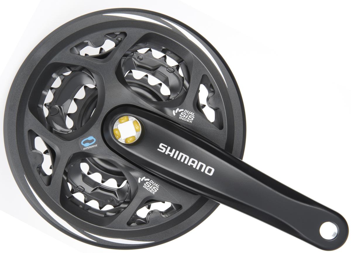 SHIMANO kliky ALTUS FC-M311 4hran 3x7/8 170 mm 42x32x22z s krytem černé