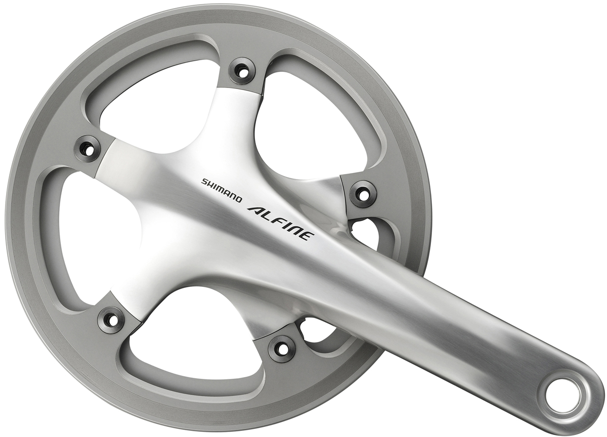 Shimano FC-S501 39z 170 mm stříbrné single + BB