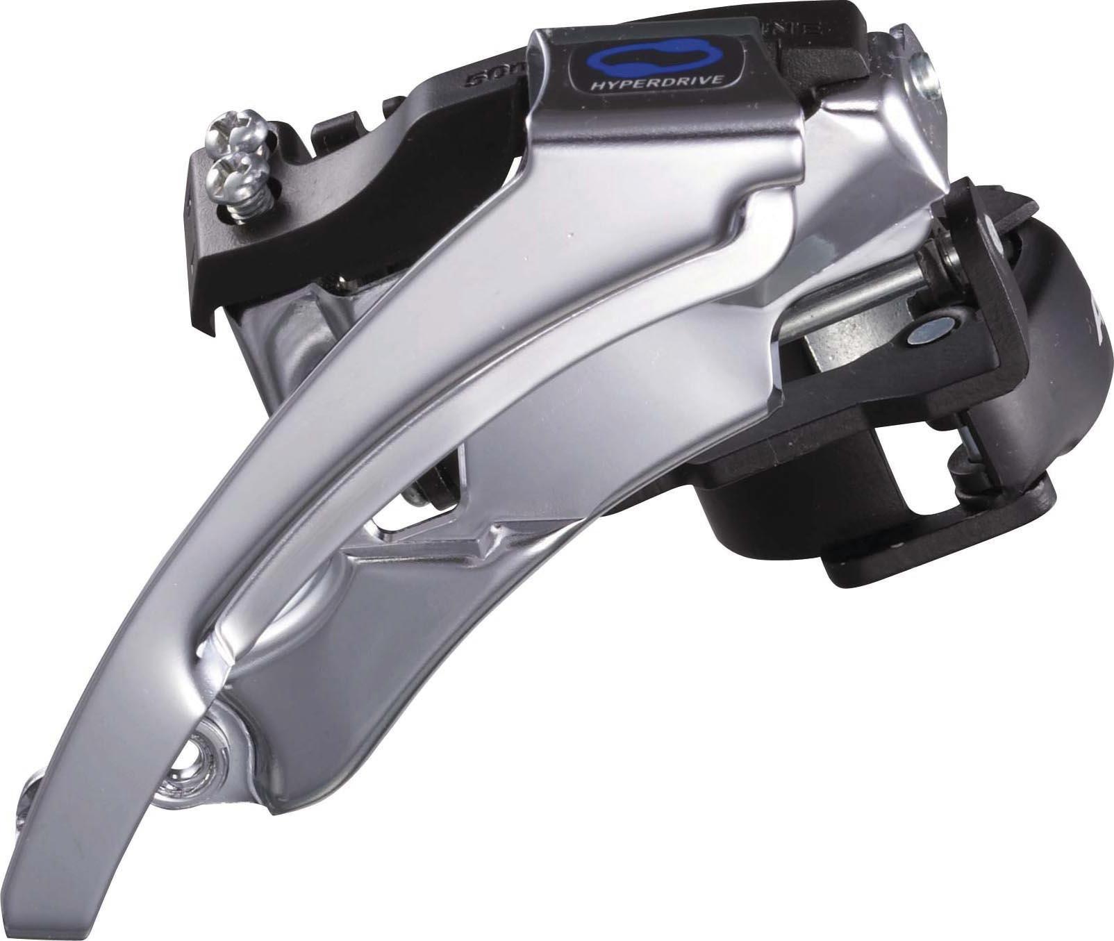 SHIMANO přesmykač ALTUS FD-M310 MTB pro 3x8/7 obj. 34,9/31,8 + 28,6 Top-swing dual pull 42/48 z