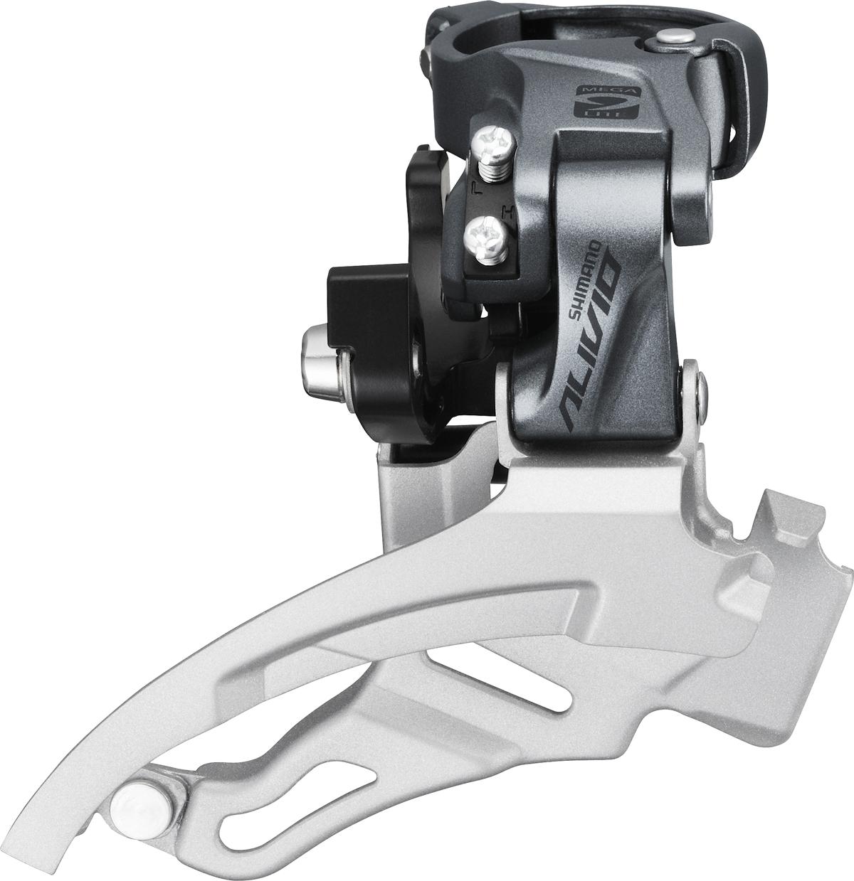 Shimano přesmykač ALIVIO FD-M4000 MTB pro 3x9 obj. 34,9/31,8 + 28,6 Down-swing dual pull 40 z
