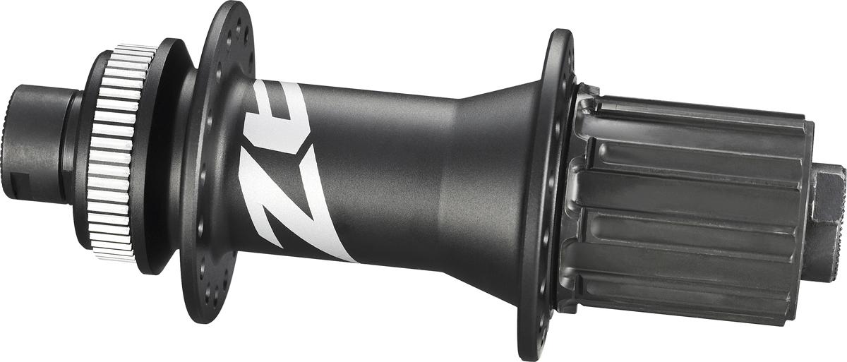 SHIMANO nába zadní ZEE FH-M640 pro kotouč (centerlock) 8/9/10 rychl 32 děr pro E-thru 10 mm