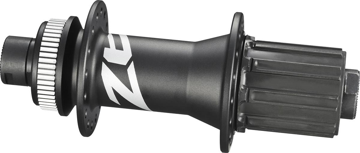 SHIMANO nába zadní ZEE FH-M640 pro kotouč (centerlock) 8/9/10 rychl 32 děr pro E-thru 12 mm