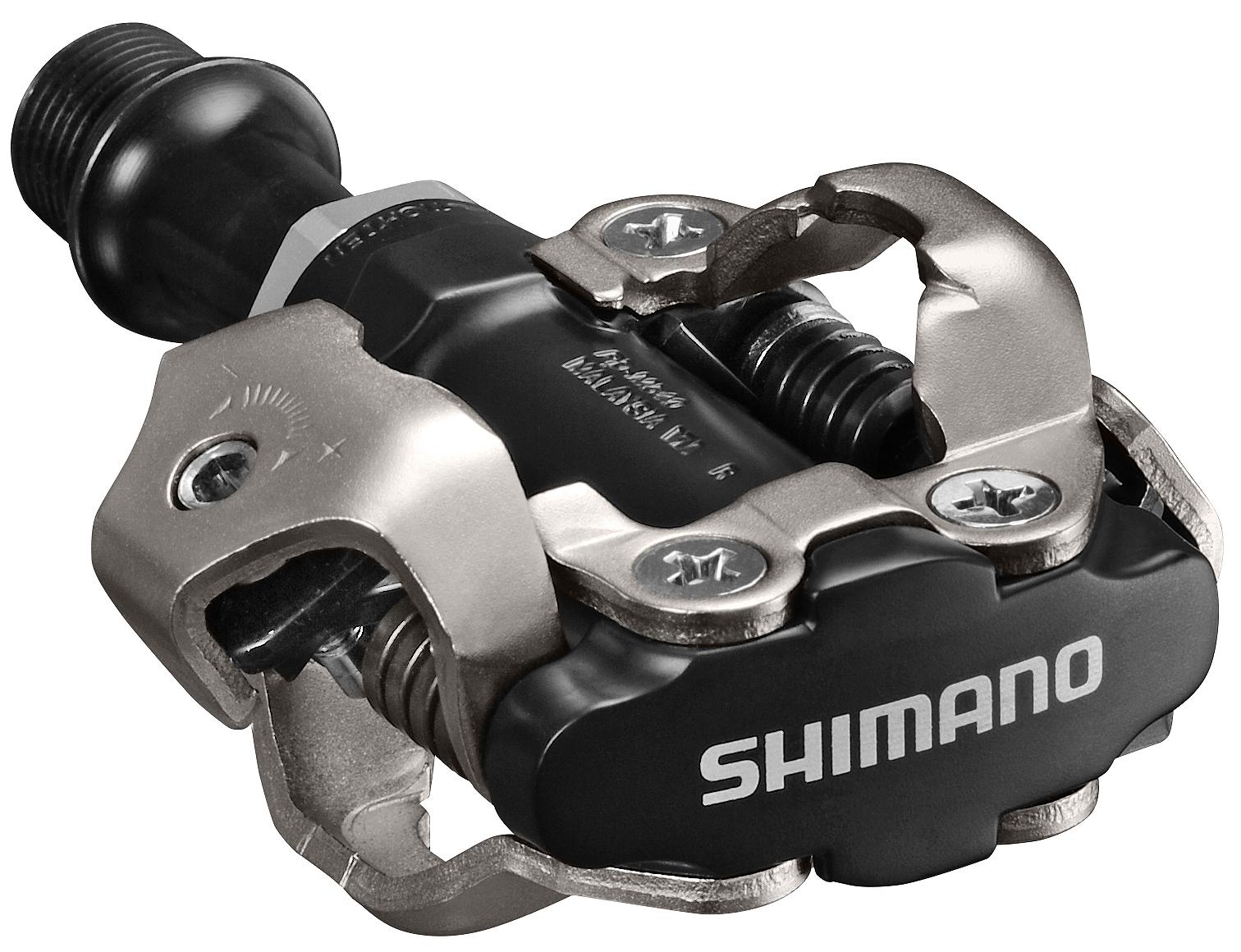 Shimano pedály MTB ostatní PD-M540 SPD zarážky SM-SH51 bez odrazek černé