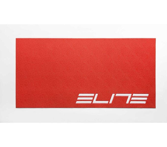 ELITE podložka pod trenažér červená s logem ELITE