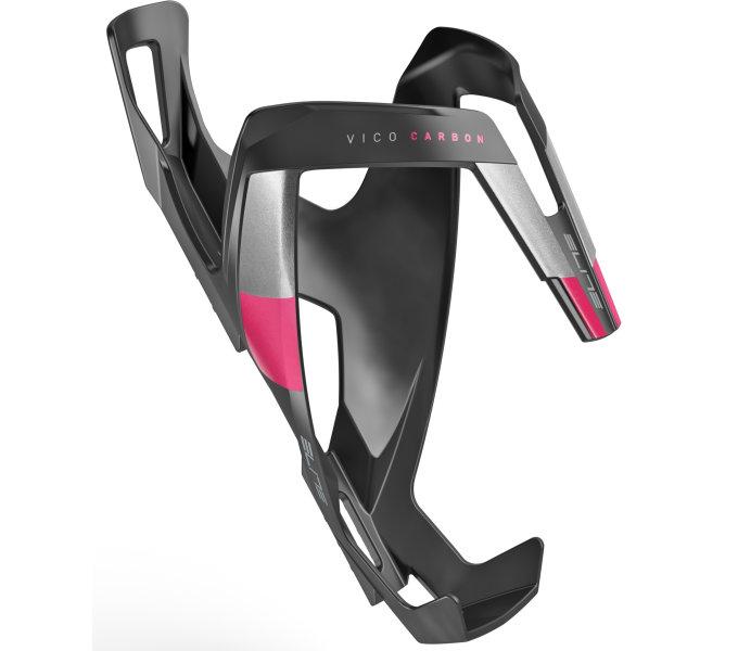 ELITE košík VICO Carbon černý matný/růžový