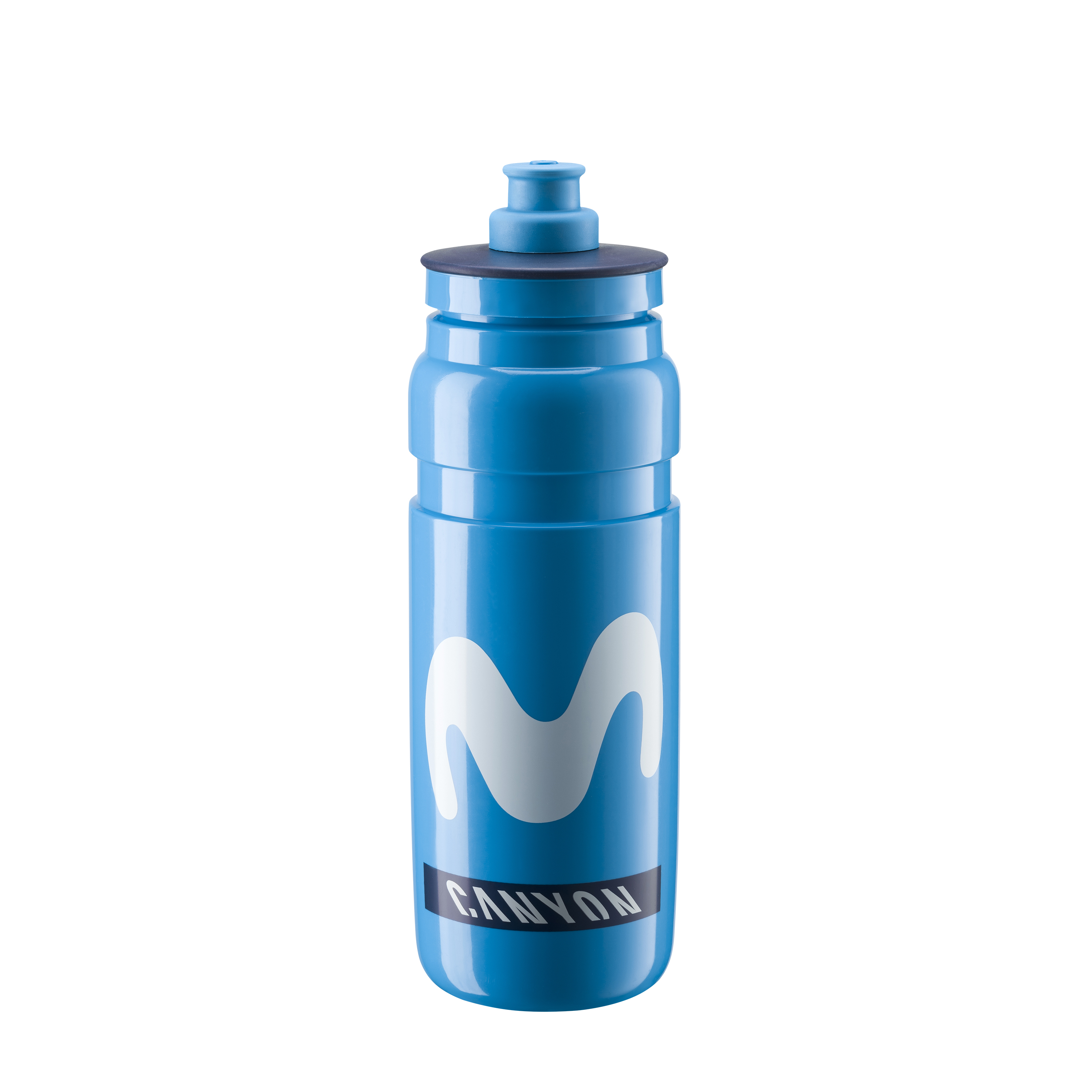 ELITE láhev FLY TEAM MOVISTAR, 750 ml