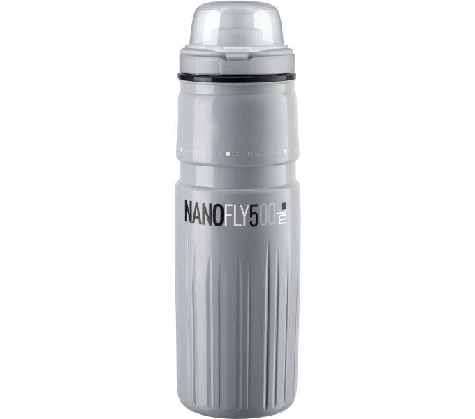ELITE termo láhev NANOFLY 21's krytkou, šedá, 500 ml
