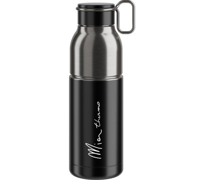 ELITE termo láhev MIA 21' černá/stříbrná, 550 ml