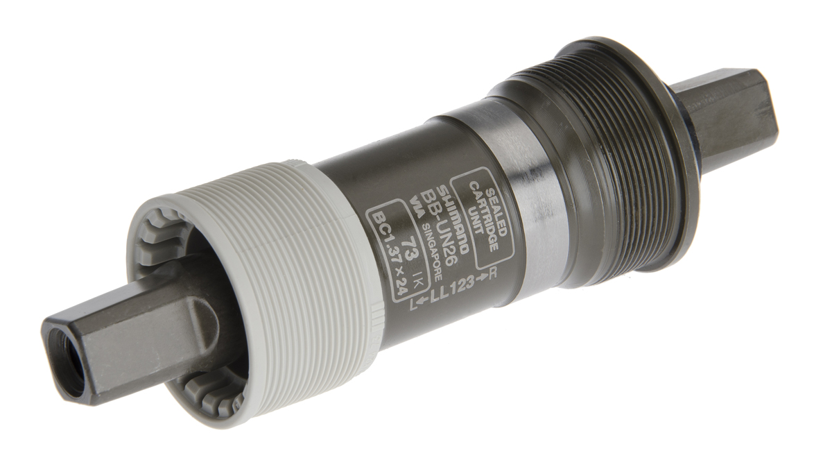 SHIMANO středové složení ALIVIO BB-UN26 osa 4hran 73 mm 122,5 mm BSA