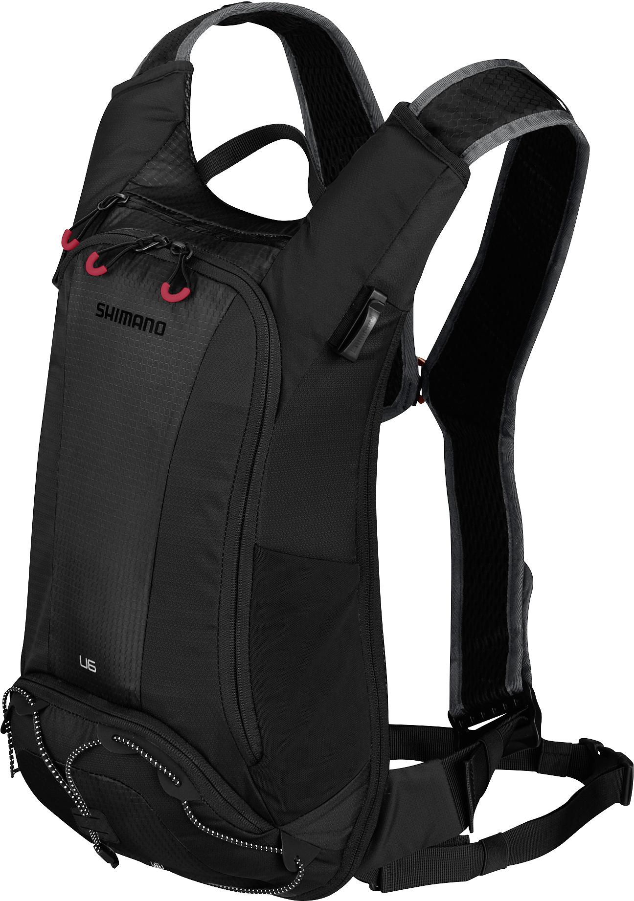 SHIMANO batoh UNZEN 6 s hydrapakem, černá
