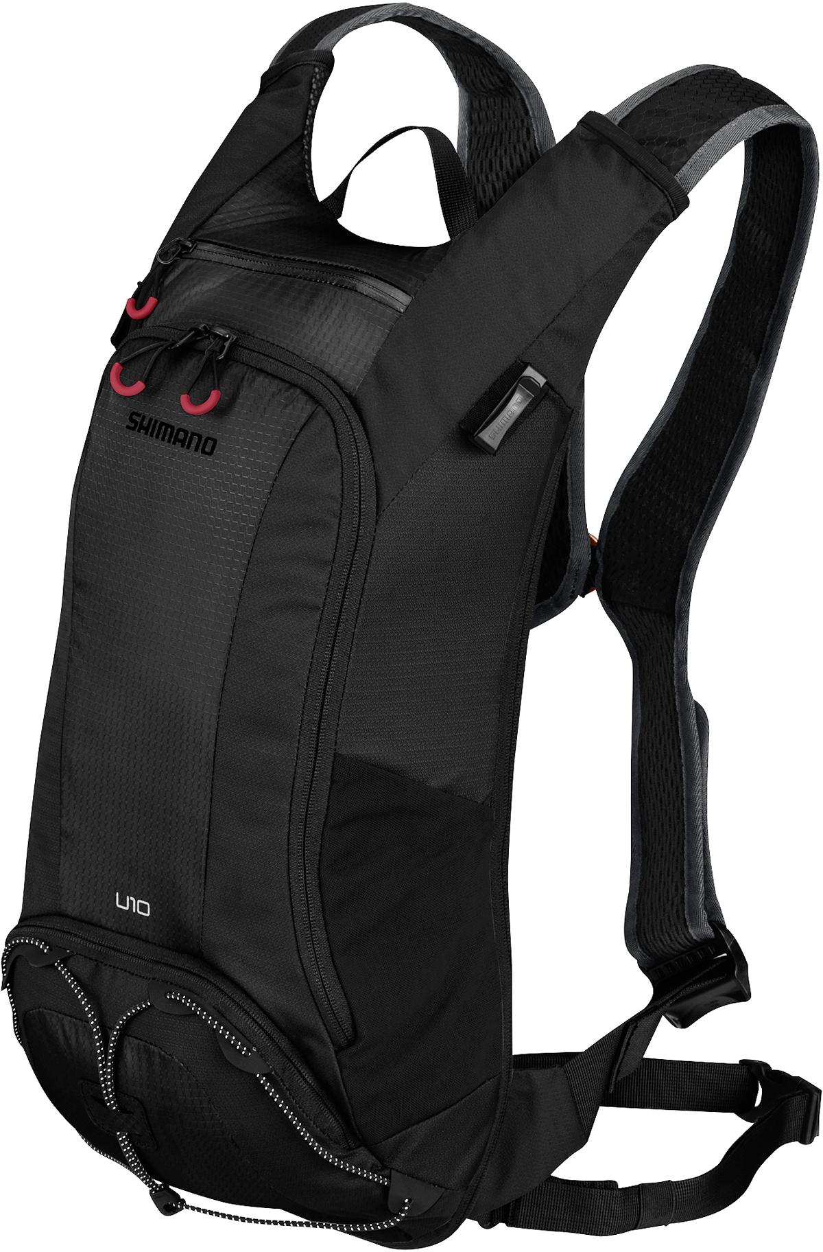 SHIMANO batoh UNZEN 10 s hydrapakem, černá