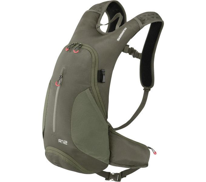 Shimano batoh ROKKO 12, olivově zelená