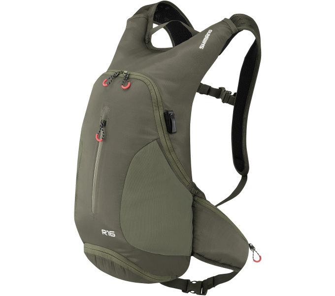 SHIMANO batoh ROKKO 16, olivově zelená