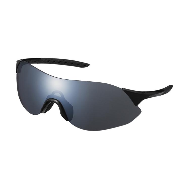 SHIMANO brýle CE-ARLS1MR, metalická černá, skla kouřová stříbrná zrcadlová