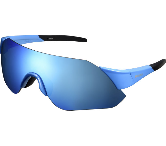 Shimano brýle ARLT1 Gloss modrá, skla kouřová modrá MLC