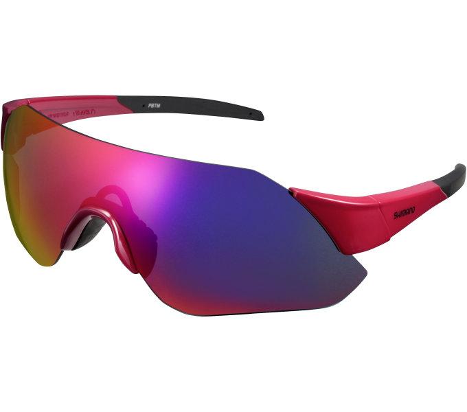 Shimano brýle CE-ARLT1ML, červená, skla kouřová červená zrcadlová