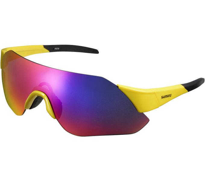 Shimano brýle ARLT1 Velocity žlutá, skla kouřová červená MLC
