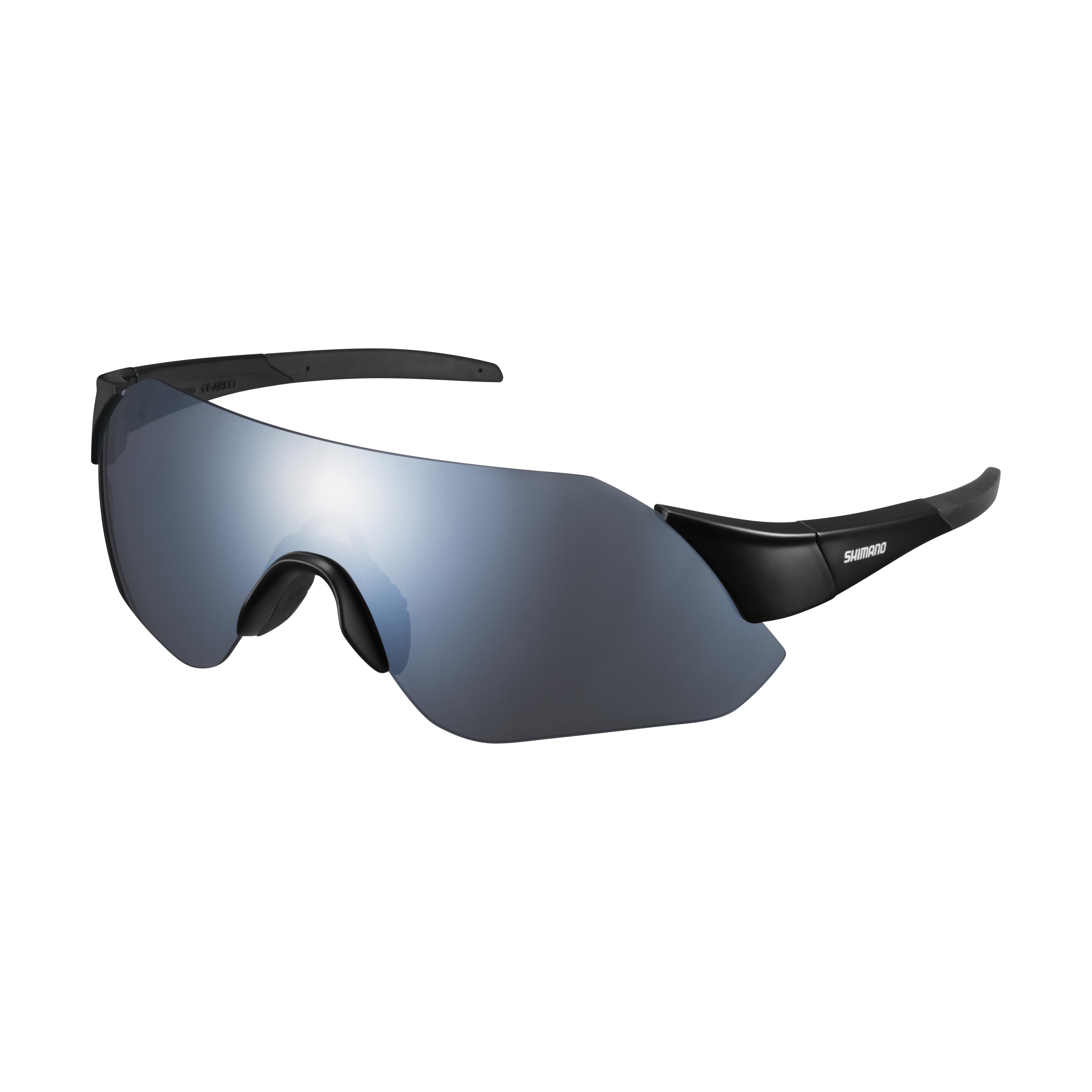 SHIMANO brýle AEROLITE, matná černá, kouřově stříbrná
