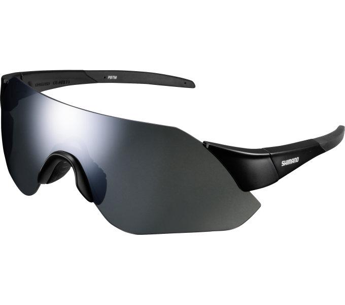 Shimano brýle CE-ARLT1MR, matná černá, skla kouřová stříbrná zrcadlová