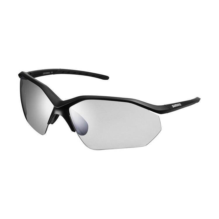 SHIMANO brýle EQNX3 matná černá, skla kouřová stříbrná zrcadlová