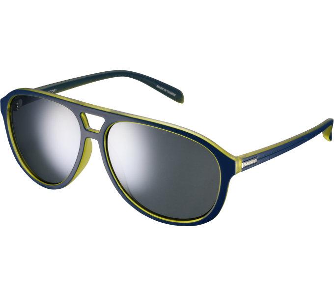 Shimano brýle MTOR1 Crescent Moon, skla kouřová stříbrná zrcadlová