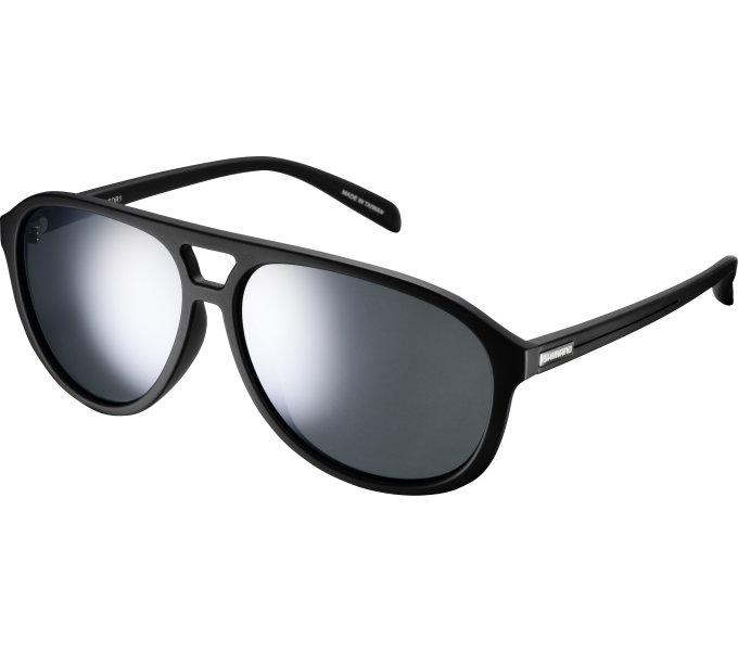 Shimano brýle CE-MTOR1MR, matná černá, skla kouřová stříbrná zrcadlová