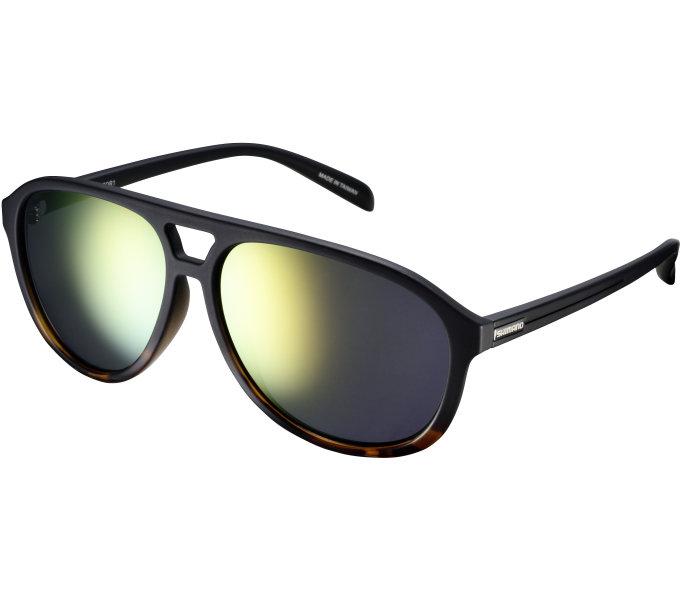 Shimano brýle CE-MTOR1MR, Tortoise Fade, skla kouřová oranžová zrcadlová