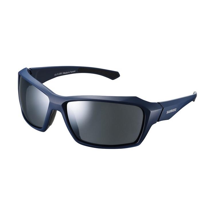 Shimano brýle CE-PLSR1MR, matná námořní, skla kouřová stříbrná zrcadlová