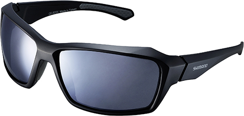 SHIMANO brýle S22X, černá/šedá, skla kouřová stříbrná zrcadlová