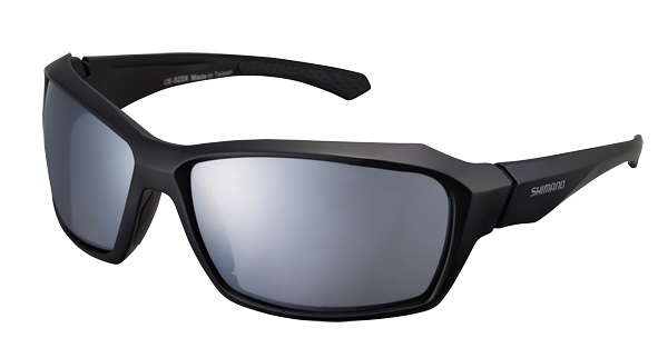 SHIMANO brýle S22X, černá, skla zrcadlově stříbrná