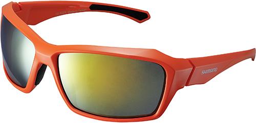 Shimano brýle S22X, oranžová/černá, skla kouřová oranžová zrcadlová