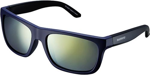 Shimano brýle S23X, Orionmodrá-černá, skla kouřová oranžová zrcadlová