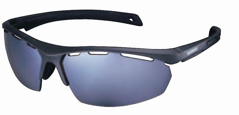 Shimano brýle S40x, matná černá, skla hnědá čírá