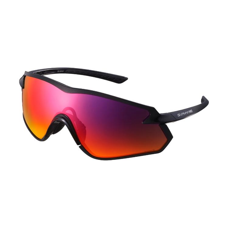 SHIMANO brýle S-PHYRE X1-PL, metalická černá