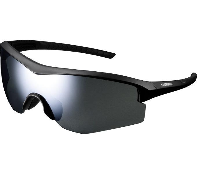 SHIMANO brýle CE-SPRK1MR, matná černá, skla kouřová stříbrná zrcadlová