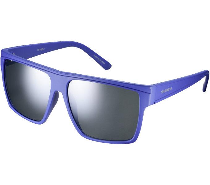 Shimano brýle SQRE1 Daybreak, skla kouřová stříbrná zrcadlová