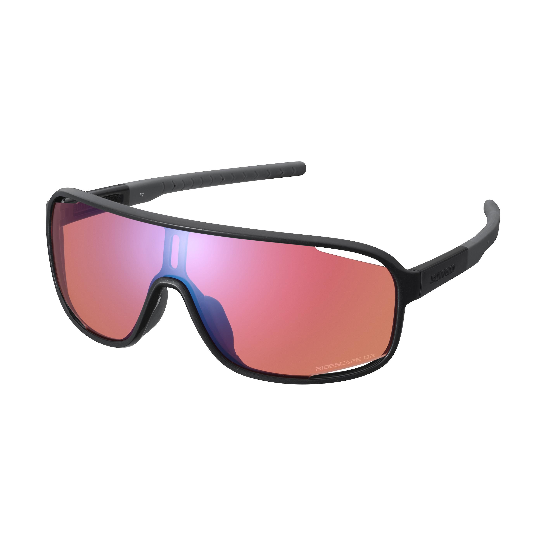 SHIMANO brýle TECHNIUM, metalická černá, ridescape off-road