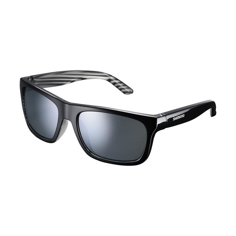Shimano brýle CE-TKYO1MR, černá Layered, skla kouřová stříbrná zrcadlová