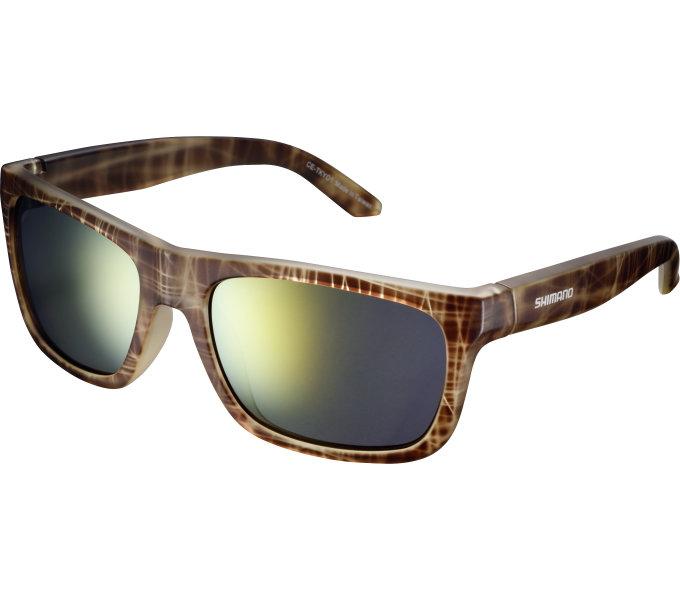 SHIMANO brýle CE-TKYO1MR, hnědá Tortoise, skla kouřová oranžová zrcadlová