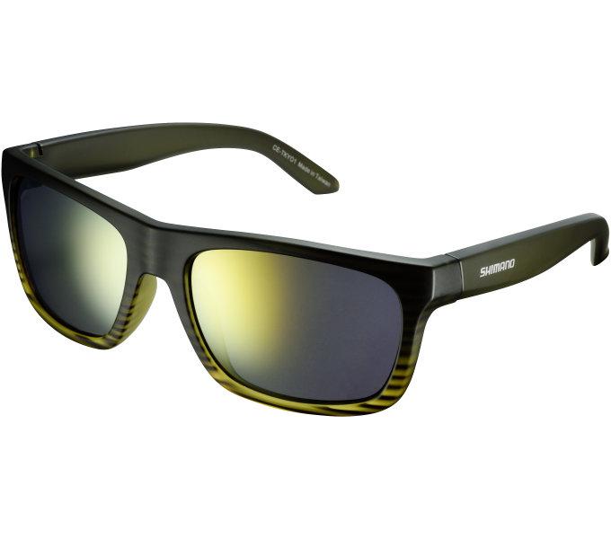Shimano brýle TKYO1 Emerald Fade, skla kouřová oranžová zrcadlová