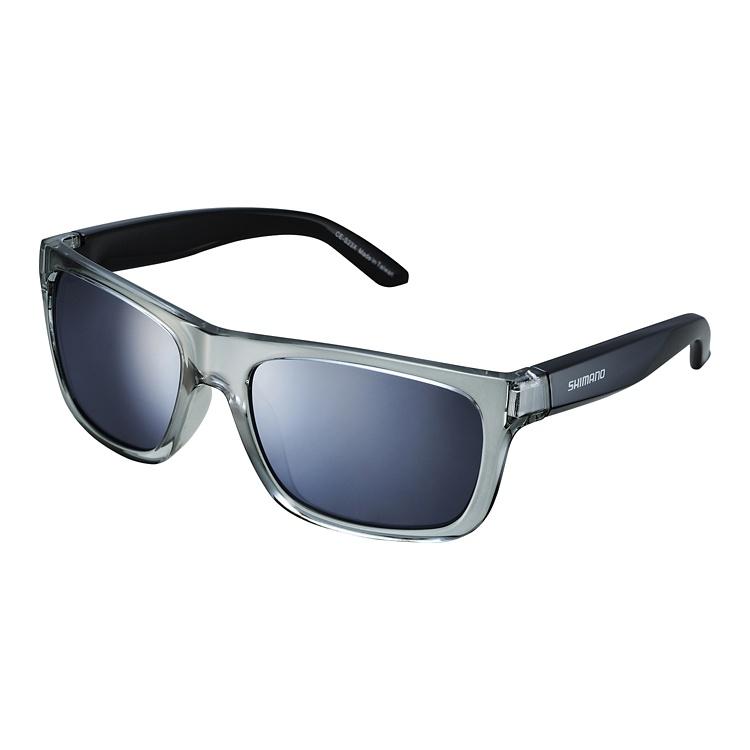 Shimano brýle CE-TKYO1MR, průsvitně šedá, skla kouřová stříbrná zrcadlová