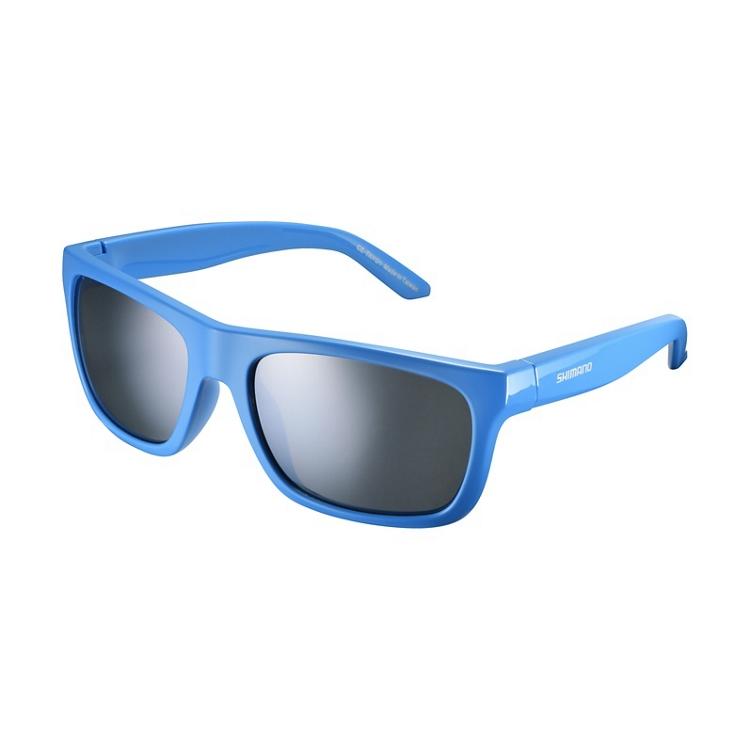 Shimano brýle CE-TKYO1MR, leská modrá, skla kouřová stříbrná zrcadlová