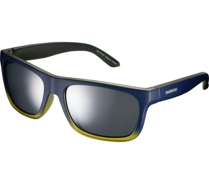 Shimano brýle TKYO1 Sunset Fade, skla kouřová stříbrná zrcadlová