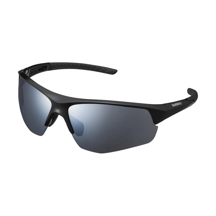 Shimano brýle CE-TSPK1MR, černá, skla kouřová stříbrná zrcadlová