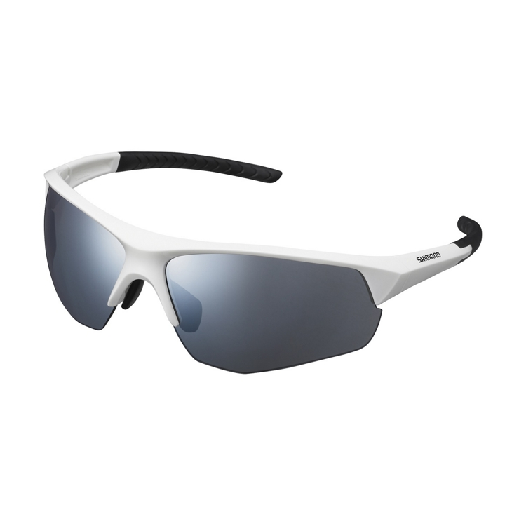 SHIMANO brýle CE-TSPK1MR, bilá, skla kouřová stříbrná zrcadlová