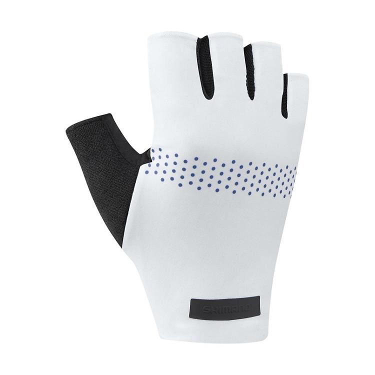 SHIMANO EVOLVE rukavice, bílé, M