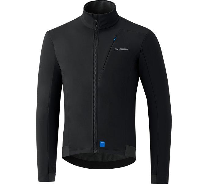 SHIMANO SOFTSHELL pánská bunda, černá, M