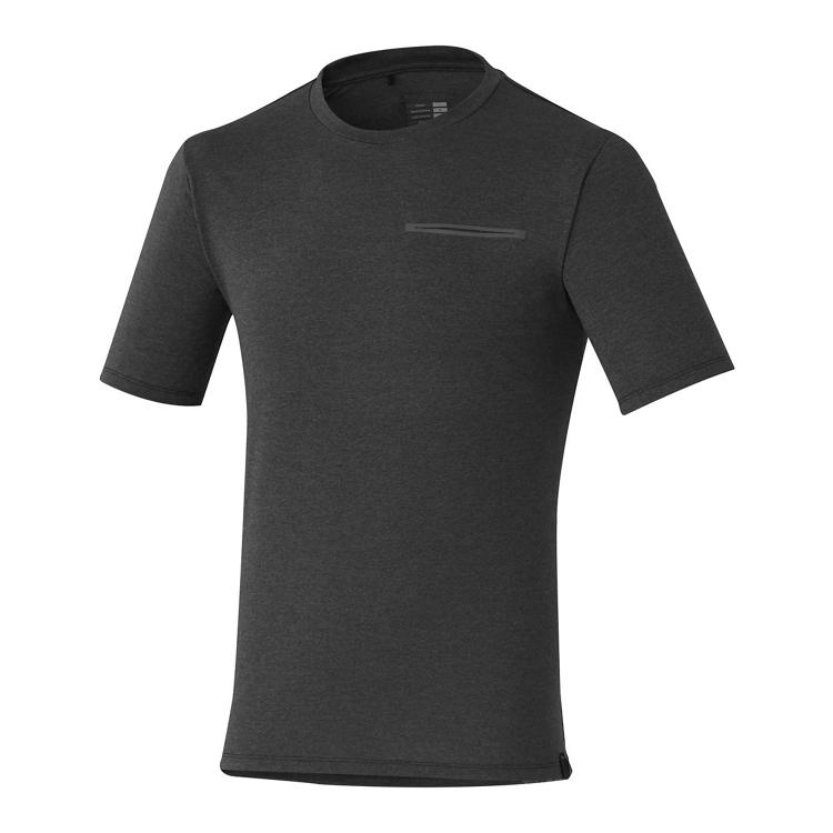 Shimano TRANSIT triko, černá, S