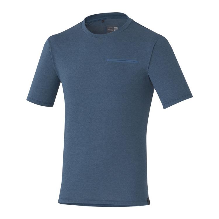 Shimano TRANSIT triko, námořní, S