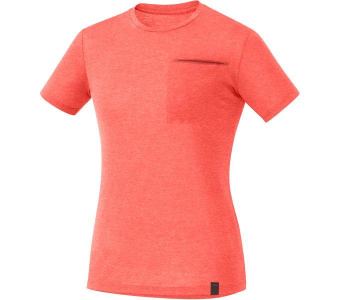 Shimano dámské TRANSIT triko, korálově červená, S